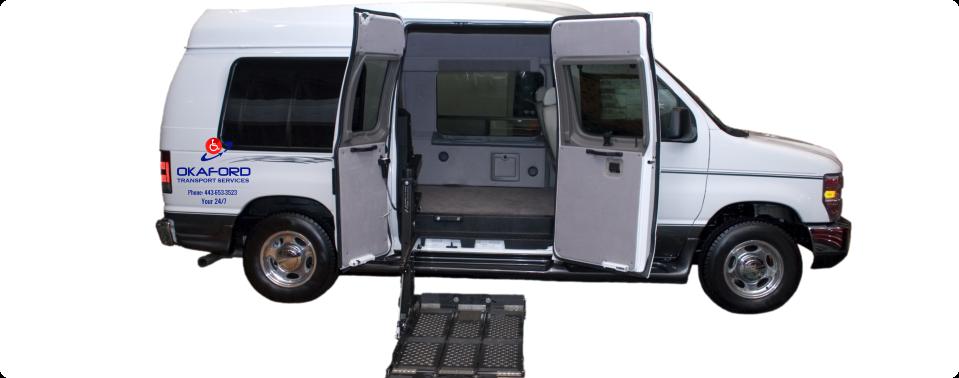Commercial transportation van